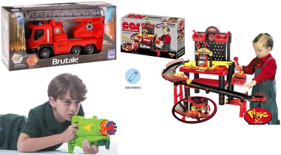 brinquedo de menino